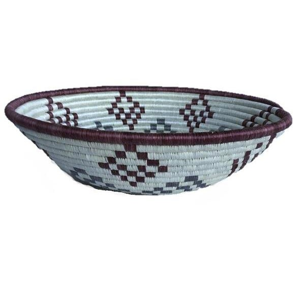 African Woven Basket - Image 6 of 6