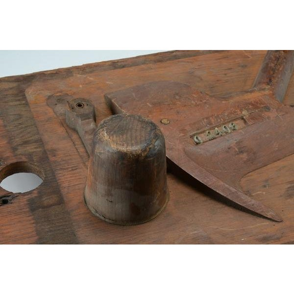Vintage Industrial Wood Mold - Image 4 of 8