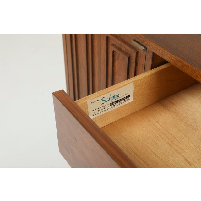 1960s Mid-Century Modern Broyhill Sculptra Credenza For Sale - Image 9 of 10