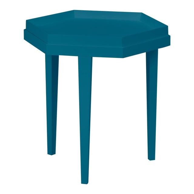 Ellis Table, Blue Danube For Sale
