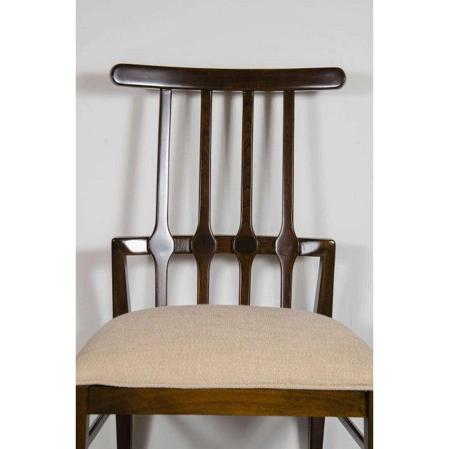 Niels Koefoed Mid-Century Modernist Dining Chair by Danish Designer Niels Koefoed For Sale - Image 4 of 7