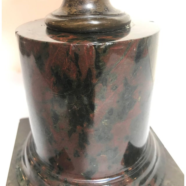 Bronze Grand Tour French Bronze Bust of Ajax For Sale - Image 7 of 10