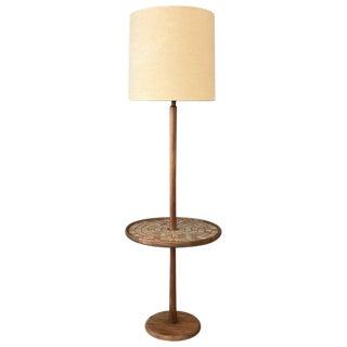 Gordon & Jane Martz for Marshall Studios Floor Lamp With Tile Table B For Sale