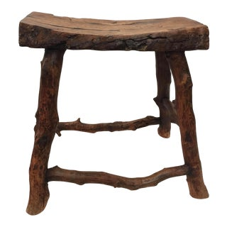 Teak Root Stool For Sale