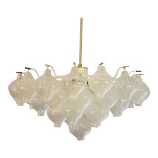 Tulipan Chandelier by Kalmar, 1960s For Sale