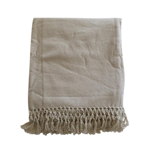 Natural Merino Wool Drapes/Bed Covers – A Pair - Image 1 of 7
