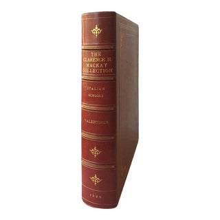 The Clarance H. Mackay Collection, Italian Schools, by William R. Valentiner For Sale