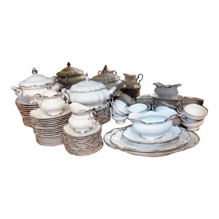 Hutschenreuther Bavaria Dinnerware & Serving Set For Sale
