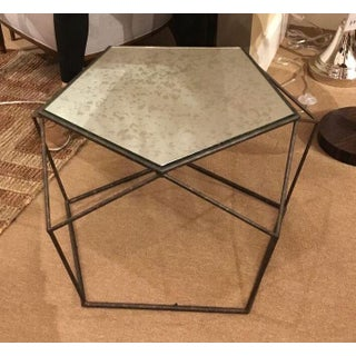 Currey & Co. Industrial Modern Geometric Axiom Coffee Table Preview