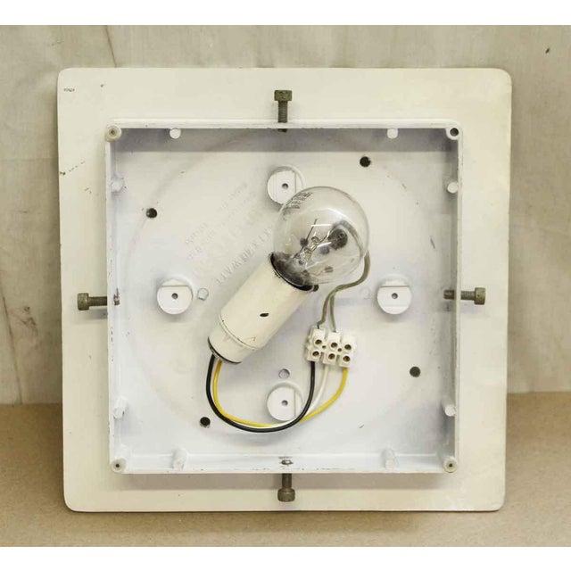 Lumenform White Opaline Semi-Flush Light For Sale - Image 5 of 8