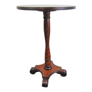 Empire Style Paint Decorated Side Table For Sale