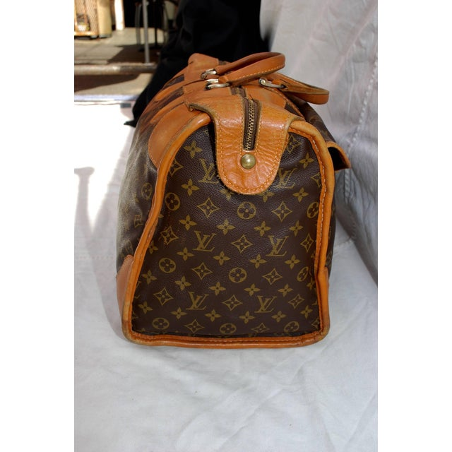 1960s Louis Vuitton Monogram Travel Bag Special Made for Saks Fifth Avenue  For Sale In Los 7a4a6b87305fb