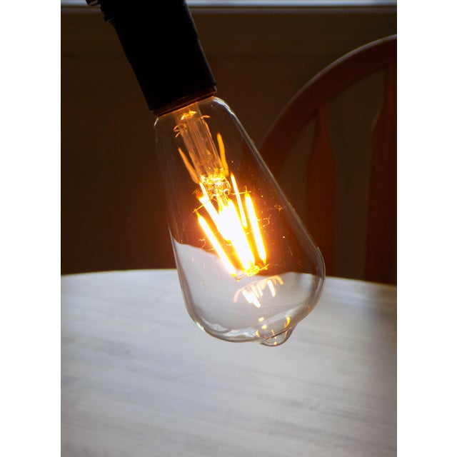 Hand-Crafted Industrial Table Light - Image 8 of 9