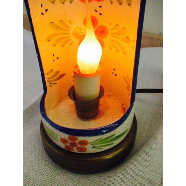 Boho Glam Ceramic Antique Candle Light - Image 10 of 10