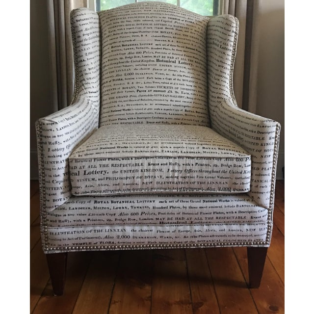 French Laundry Upholstered Chair - Image 3 of 7