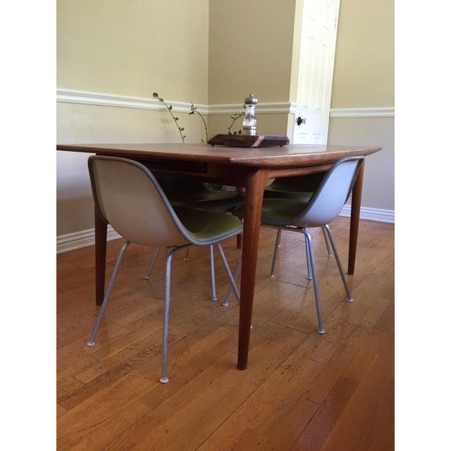 Eames La Fonda Lowback Chairs - Set of 4 - Image 4 of 11