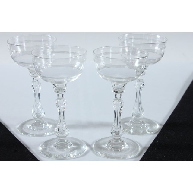 Coupe Champagne Glasses - Set of 4 - Image 2 of 3