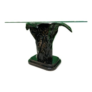 Serge Roche Sculptural Plume Console Table For Sale