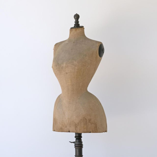 19th Century Wasp Waist Stockman Dressmakers Dummy For Sale - Image 4 of 8