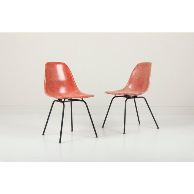1950s Vintag Herman Miller Eames Dsx Chairs - Pair For Sale - Image 11 of 11