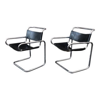 1960s Cantilever Chairs by Ralph Rye for Dunbar - a Pair For Sale
