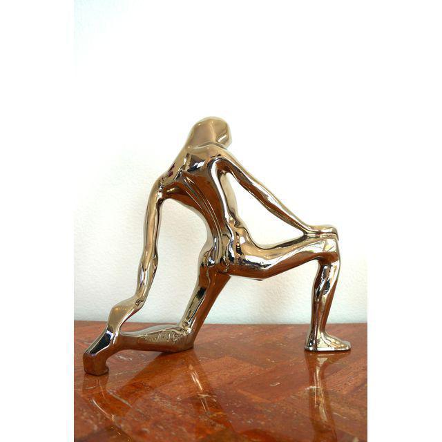 Jaru 1980s Jaru Chrome Abstract Nude Figure For Sale - Image 4 of 6