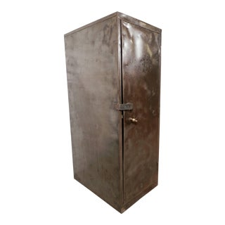 Large Industrial Metal Cabinet by Columbia Steel For Sale