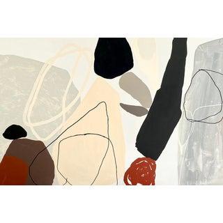 Boulders III Painting by Elizabeth Saven