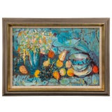 Image of 1970s Vintage Still Life Painting by Humbert Howard For Sale