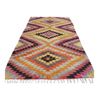 Anatolian Turkish Classic Kilim Rug For Sale