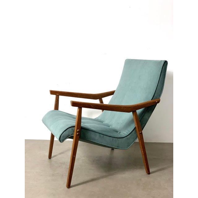 Milo Baughman for Thayer Coggin Walnut Lounge Chair, 1950's For Sale - Image 9 of 9