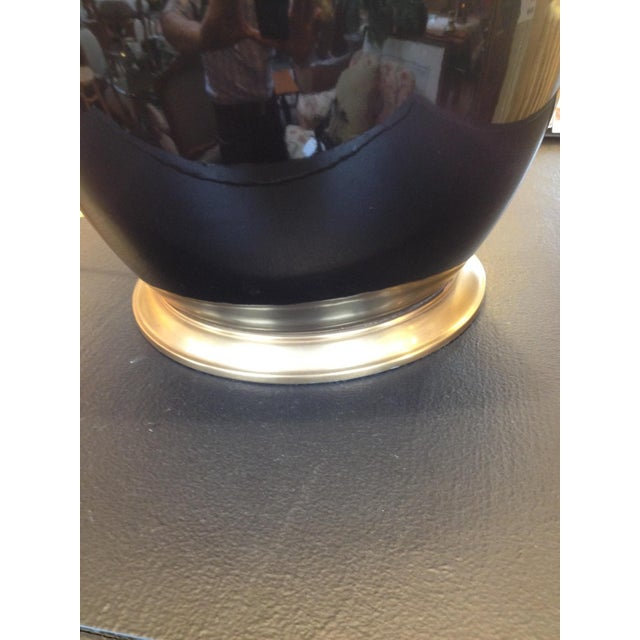 Ralph Lauren Malin Ming Black Jug Lamp - Image 6 of 9