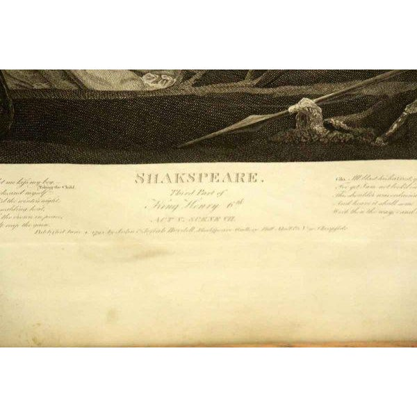 Vintage Shakespeare Print For Sale - Image 5 of 7