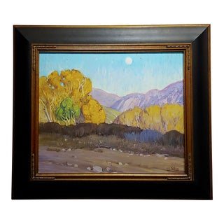 Tim Solliday -Beautiful Fall California Landscape - Oil Painting For Sale