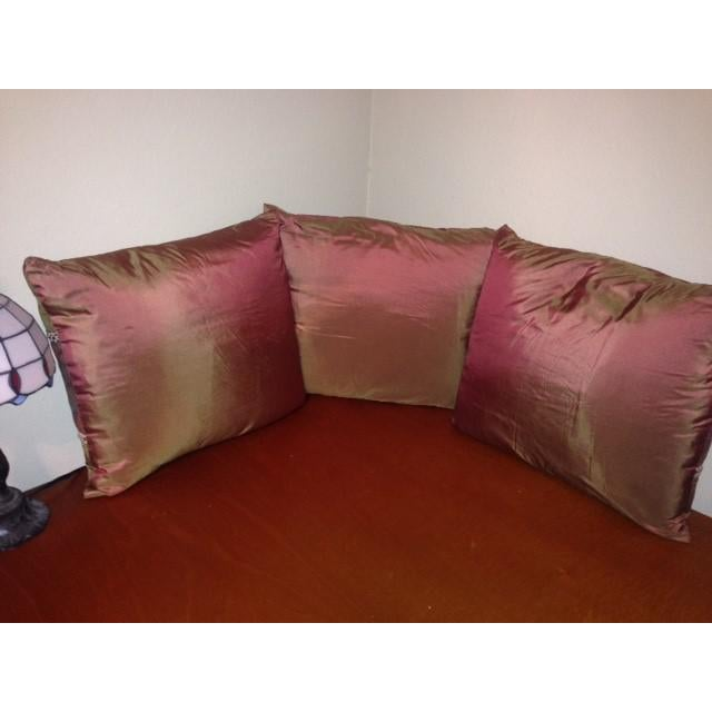 1950's Mariano Fortuny Pillows - Set of 3 - Image 3 of 3