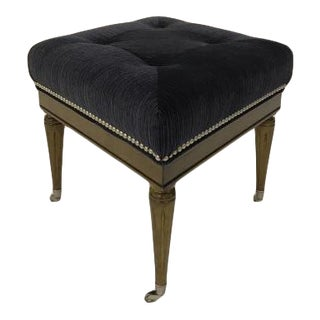 Thomas O'Brien Cantara Diamond Ottoman for Century Furniture For Sale