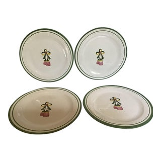 1980s Ceramic Plates From Peru - Set of 6 For Sale