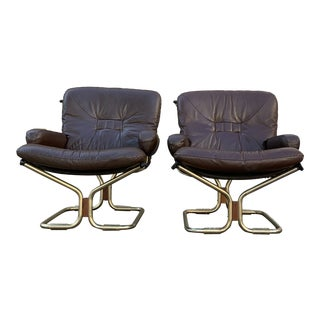 Mid Century Westnofa Lounge Chairs For Sale
