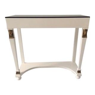French Vintage Moderne Foyer Table For Sale