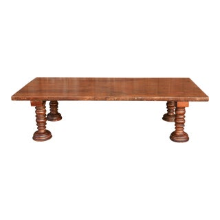 Antique Indian Bed Coffee Table For Sale