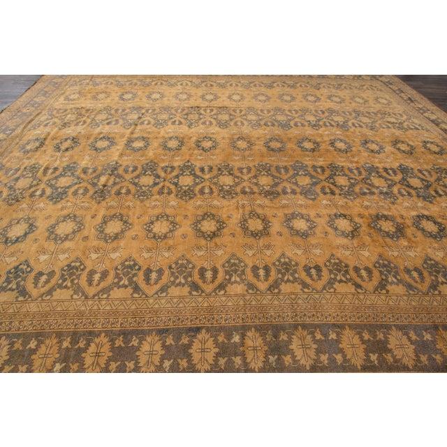 "Apadana - Vintage Afghan Rug, 13'1"" x 16'7"" For Sale - Image 5 of 7"