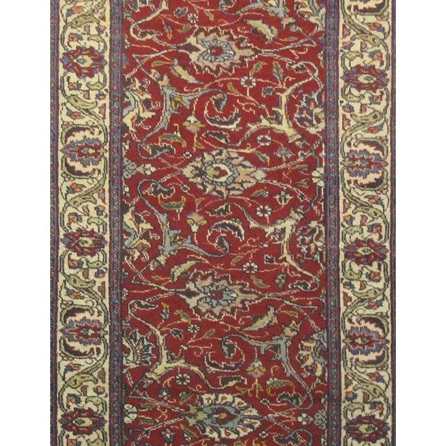 Vintage Persian Tabriz Rug - 3'1''x15'7'' - Image 2 of 2
