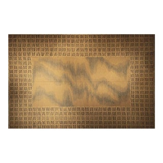 Continental Flat Weave Rug - 10′ × 14′