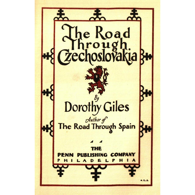 """Booth & Williams 1930 """"The Road Through Czechoslovakia"""" Collectible Book For Sale - Image 4 of 6"""