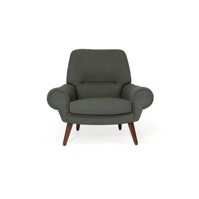 Green Kurt Ostervig Danish Lounge Chair for Custom Upholstery For Sale - Image 8 of 8