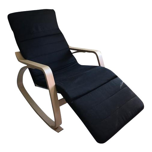 Chaise Lounge- Bentwood, Rocker With Adjustable Footrest - Image 1 of 7