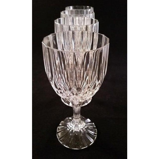 Cristal d' Arques Cristal D' Arques-Bretagne Wine Glasses - Set of 4 For Sale - Image 4 of 6