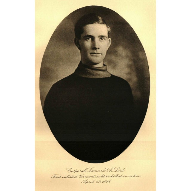 1928 Vermont In The World War 1917 1919 Collectible Book Chairish