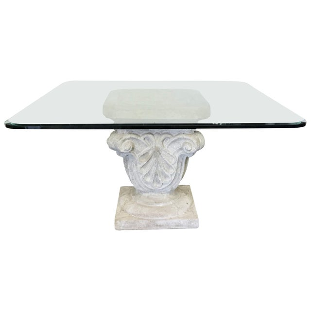 1970s Faux Stone Table For Sale - Image 12 of 12