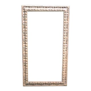 1960s Tribal Faux Wood Wall Frame For Sale